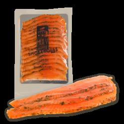 Premium Sea farmed Gravlax Salmon by Holy Smoke