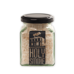 Salt slow manuka cold smoked flakey in a jar