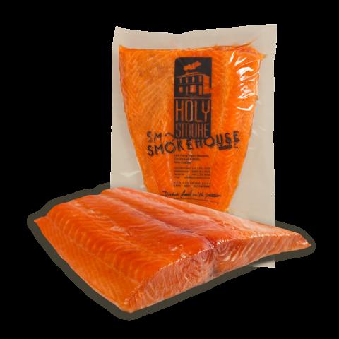 Hot Smoked Salmon 1/2 Side